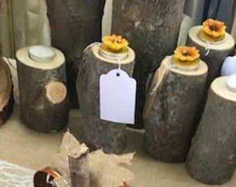 Fresh Cut Wood Pillars