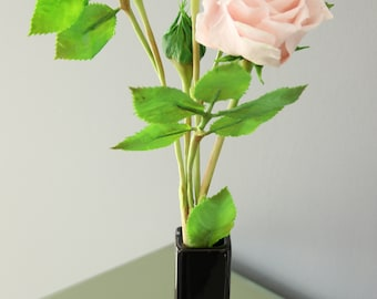 Real Touch Roses,Home Décor,white flowers,Table decoration,home accents,Floral Arrangement,Roses,Gifts,Clay flowers,cold porcelain,clay rose