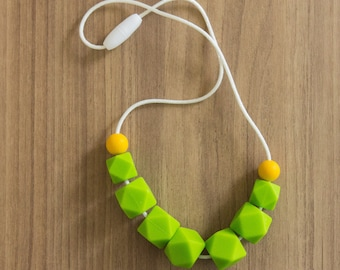 Silicone Necklace 00111110 | Breastfeeding Necklace | Baby Shower || Sale