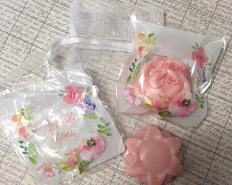 Baby Shower and Wedding Favor- Handmade Soap Favors (they are sold by the dozen)