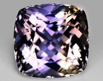 7.47 Carat Ametrine Gemstone From Bolivia, Faceted Ametrine