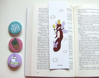 Princess Squirrel - Squirrel Bookmark Collection