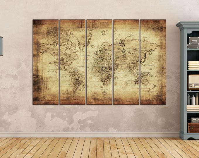 World maps - LWhomedecor