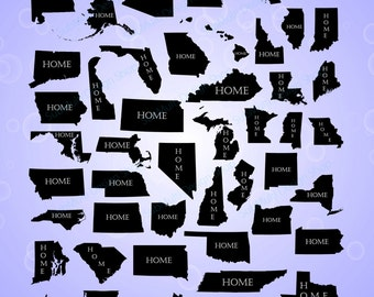 united states map with home us map silhouette svg eps png high quality state names included in png printable with united states map silhouette