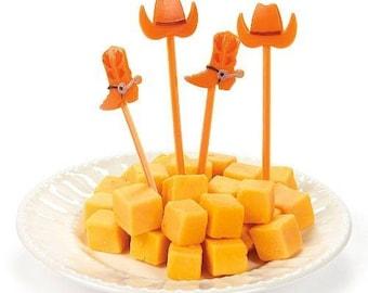 Western Hat & Boot Picks /Food picks / cupcake picks