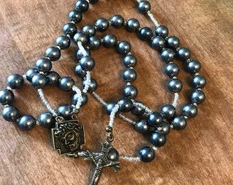 Onyx Rosary