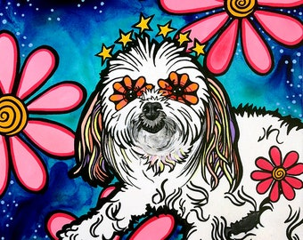 Pet Portraits, Custom Pet Portraits, Trending Now Dog Lover Gift, Pet Loss Gifts, Best Selling Art, Top Selling Art, Mexican Decor, Painting
