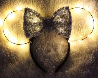 Light Up Minnie Mouse Ears