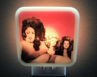 Female Trouble Night Light Dawn Davenport 80s Divine Drag Queen Retro Cult Classic Movie Gay Baltimore Nightlight Plug in John Waters 70s