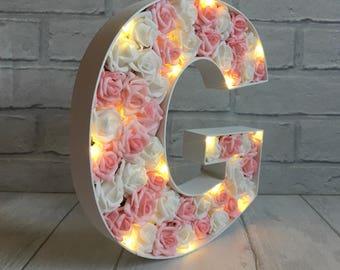 Letter G Gift, Bridal Shower Decoration, New Baby Girl Gift, Baby Girl Room