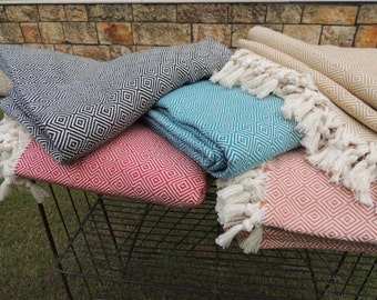 Quick View. More Colors. Hand Loomed Blanket Throw ...