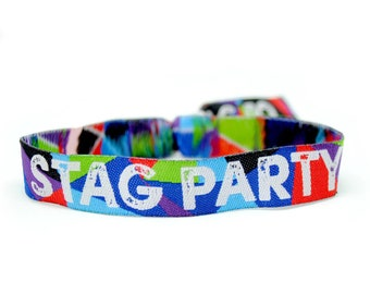 Stag Party Wristbands (Team Groom) Stag Do Wristband favours ~ accessories ~bachelor party