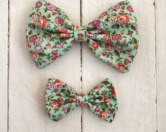 Large Hair Bows/ Clip-on Bow Tie