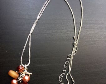 Brown Chain Necklace