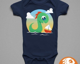 Zilly at Sea Children's T-Shirt | Baby Onesie | Cute | Monster