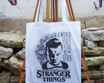 Tote Bag  Stranger Things Mandala