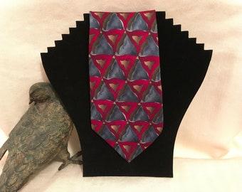 Jerry Garcia Geometric Necktie