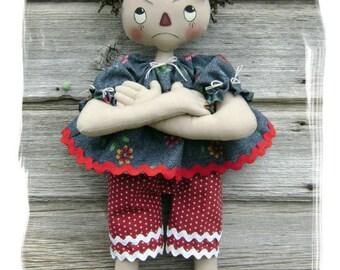 CF269 Pure Sweetness - PDF ePattern Cloth Doll