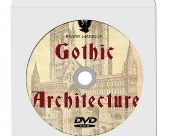 GOTHIC ARCHITECTURE 72 Rare Vintage Books pdf on DVD Rom! Cathedrals Gothic Buildings, Medieval Architecture