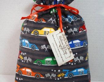 Cloth Gift Bags Fabric Git Bag Medium Size Childrens Handmade Reusable Gift Bag