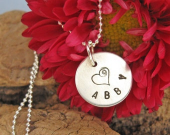 Personalized necklace - Name necklace - Custom mom necklace