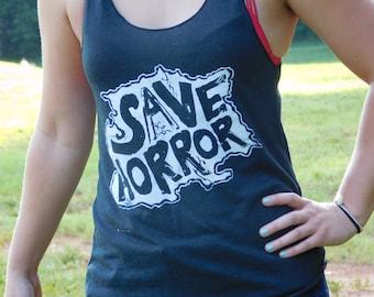 Save Horror Island Womens Tank Top
