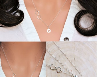 Mothers day gift from daughter - Mother daughter necklace set - mother daughter jewelry - mother daughter gift - mothers day gift for mom