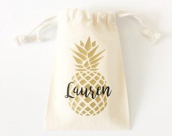 Partie d'ananas ananas Bachelorette party décorations faveur de sacs