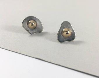Fried Egg Earrings