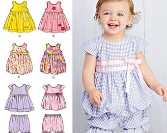 Simplicity Pattern 1141 Babies' Dresses