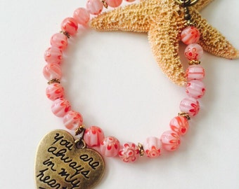 You Are Alway in My Heart Bracelet.