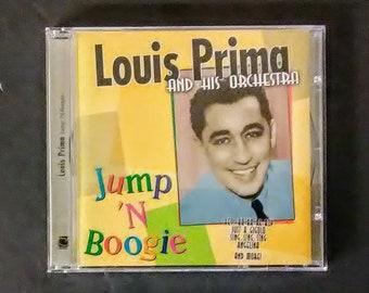 LOUIS PRIMA And His Orchestra - Jump 'N Boogie (CD, Simitrar 5460, 1998) Jazz, Big Band, Swing, Sealed