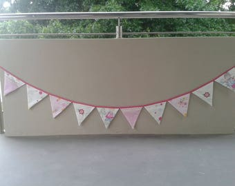 Bunting Flags - Pink