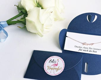 Maid of honor gift / / Rosé Gold Bracelet LOVE