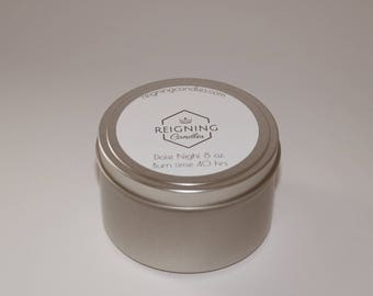 Soy Candle- Date Night (sandalwood/amber)