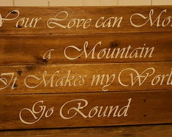 custom made signs for Weddings, birthdays, anniversaries or just because.....