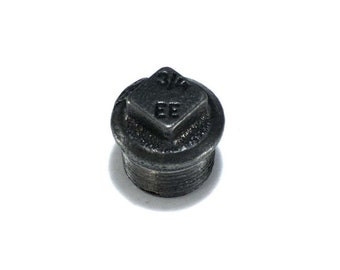 Plumbing fitting Cap Male flange steel black cast iron (15/21, 20/27, 26/34)