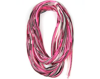Pink Scarf, Pink Infinity Scarf, Infinity Scarf, Gift for Her, Gift for Women, Statement Necklace, Scarf Women, Scarves for Women, Womens