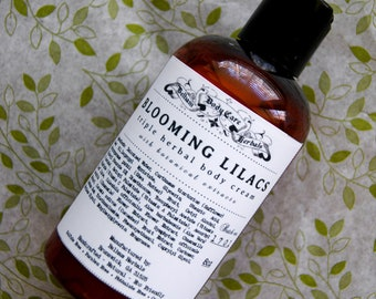 BLOOMING LILACS Lotion | easter gifts, easter basket, easter gifts for her, skincare, mothers day gift, gift for wife, gift for mom