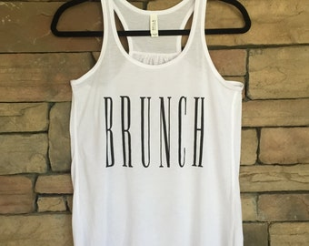 Brunch Tank - White