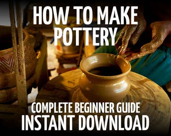 How to Make Pottery, Pottery Tutorial, Pottery Glazes, Pottery Clays, Pottery Guide, Ceramics Tutorial, Pottery Tools, Pottery Tile