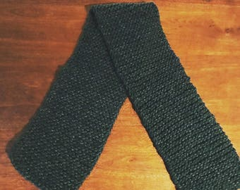 Hand-Knitted Scarf Wool Mohair Blend Yarn