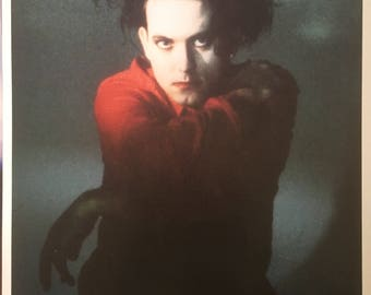 Wall Art Robert Smith, The Cure UK Original Import Poster 23 1/2 x 33