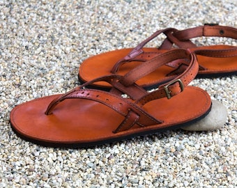 Women's Leather Sandals - Annie