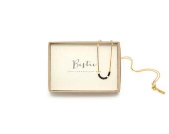 BESTIE || Morse Code Necklace, Besties, Bestie Necklace, Bestie Jewelry, Best Friend, Best Friend Gift, Friendship Necklace, BFF Birthday