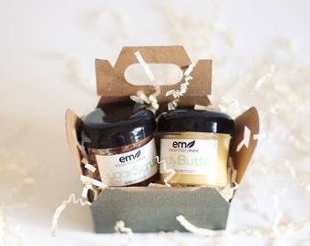 Relaxation Gift Set, Sugar Scrub Gift, Body Butter Gift, Relaxation gift, Spa Gift Set, natural body care, bath and body gift