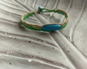 Ladder braided bracelet