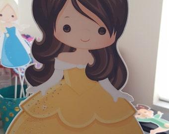 Disney Princess, Princess birthday, Princess party, birthday, baby shower, Princess centerpiece, Princess theme party, Disney party,Princess