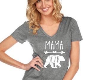 Mama Bear shirt|Papa Bear|Baby Bear|Auntie Bear tshirt| arrows