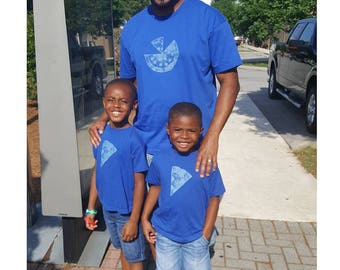 Matching Father Son Shirts, Pizza T shirts, Fathers Day gift idea, new dad shirt, father daughter, gift for dad, gift for dad 1 2 or 3 kids